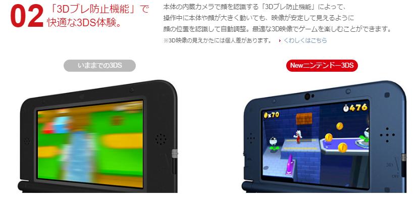 3DSとNew3DSの違い