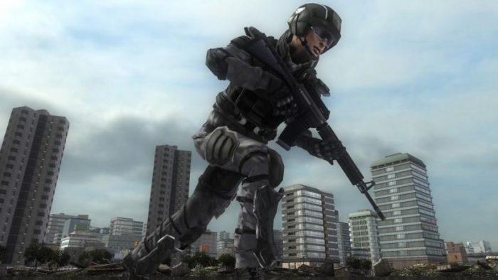 地球防衛軍5のダッシュ機能