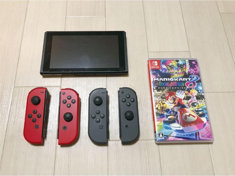 Switchで4人同時におすそわけプレイするために必要な物