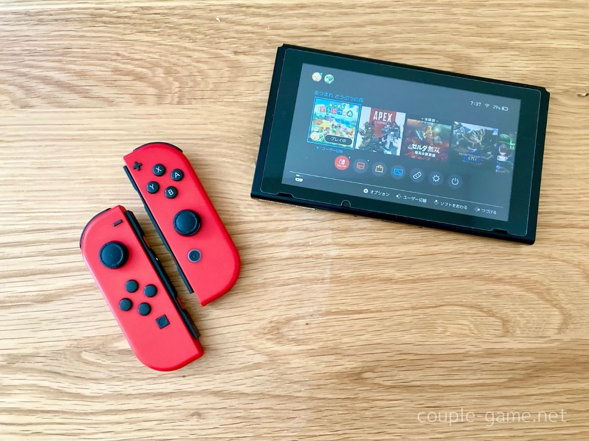 Joy-ConとSwitch