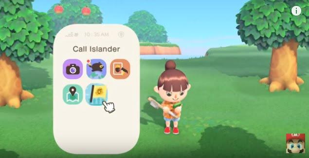 Call Islanderを選択