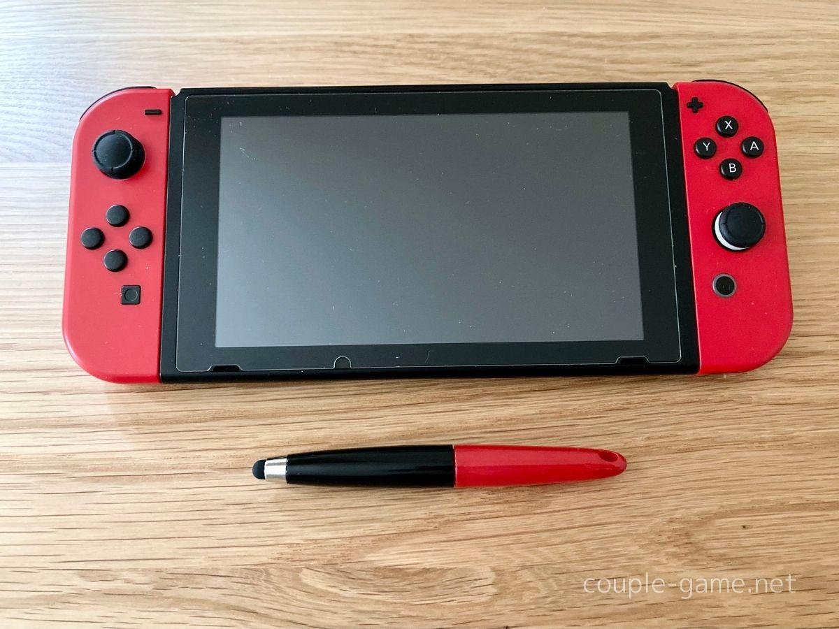 Switchとタッチペン