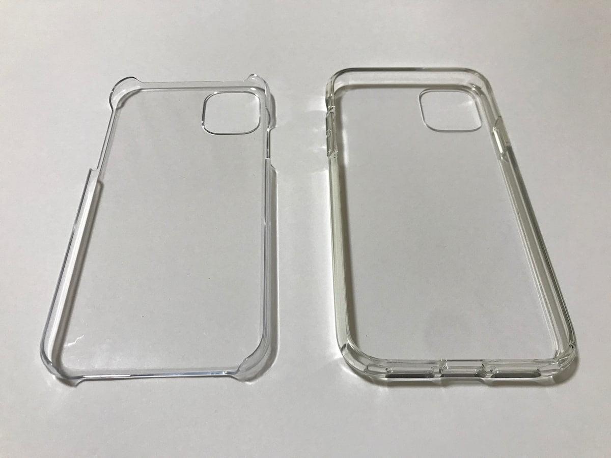 AmazonとダイソーのiPhone11ケース
