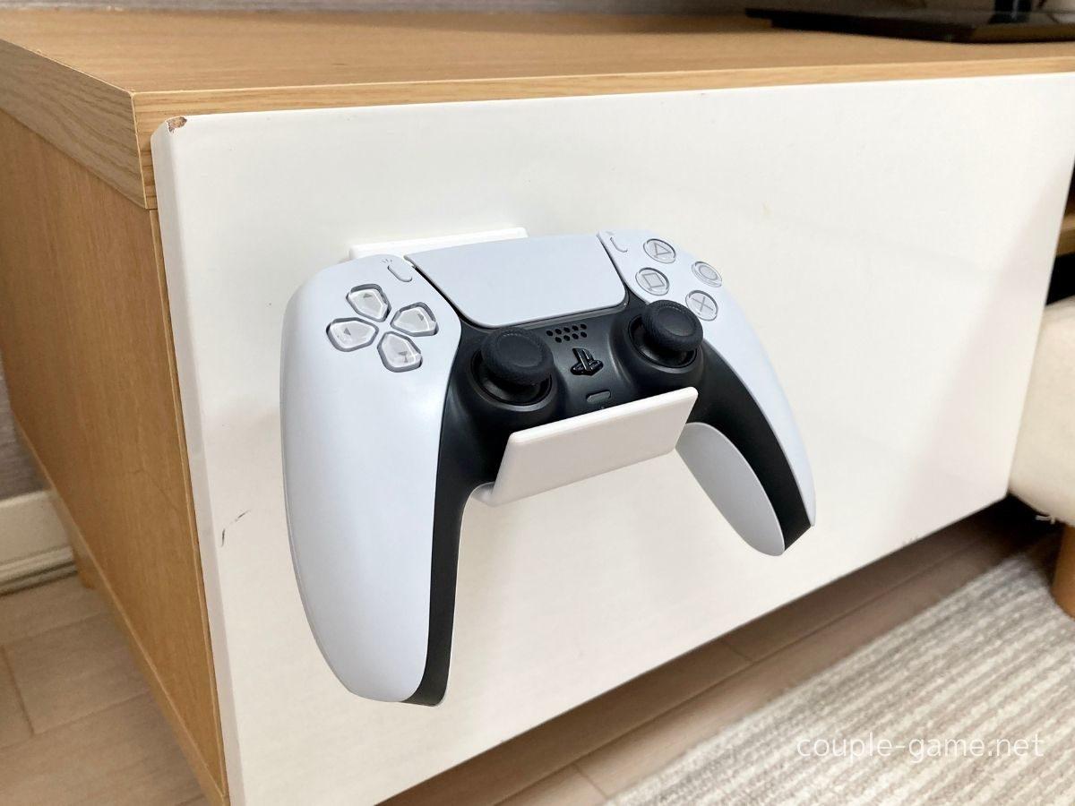 PS5とコントローラースタンド