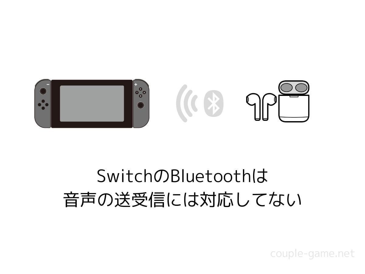 SwitchのBluetooth接続
