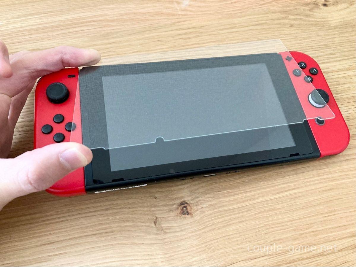 Switchと保護フィルム