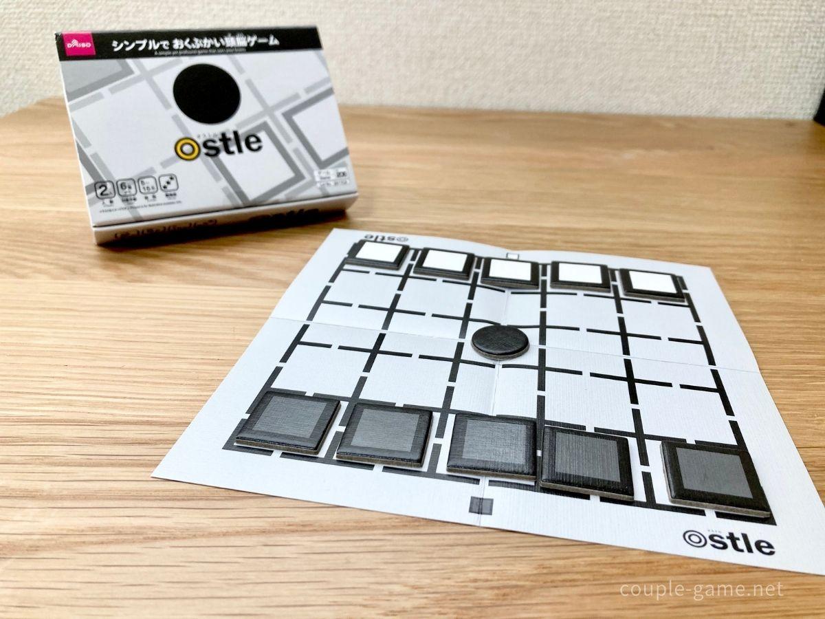 オストルの箱とゲーム用マット